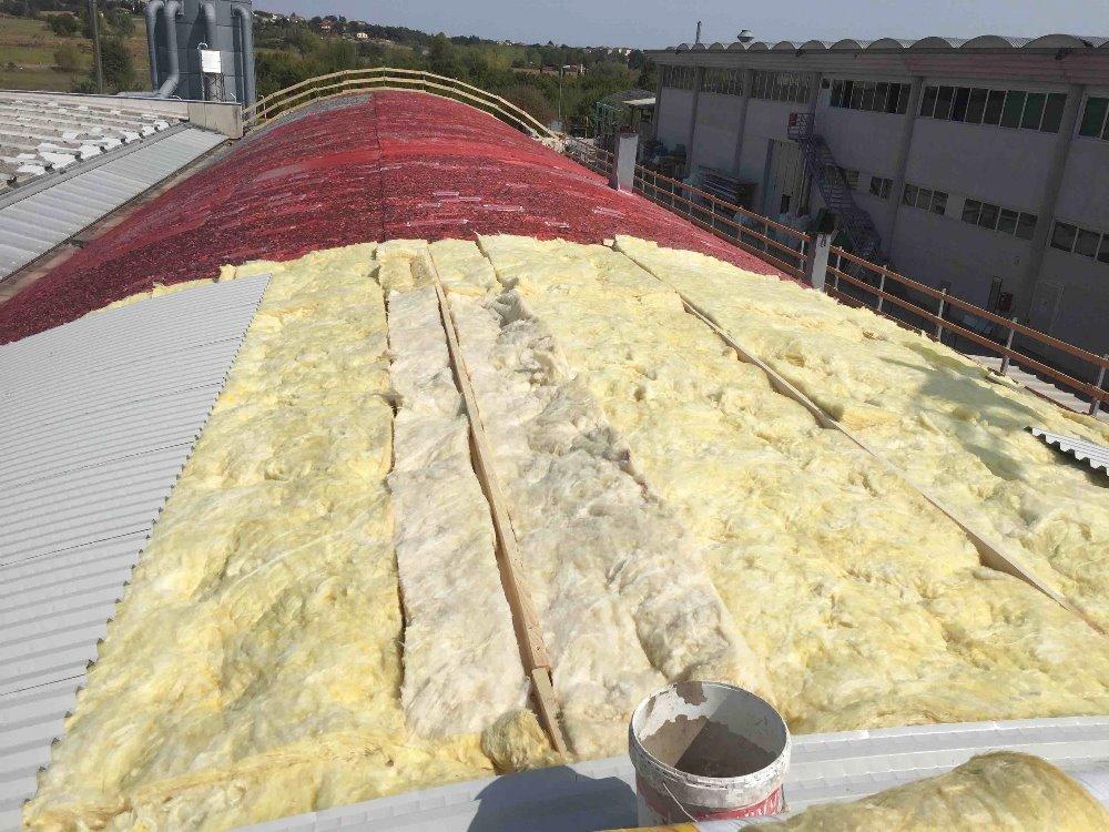 Isolamento tetto a volta rimozione dell amianto ed efficientamento